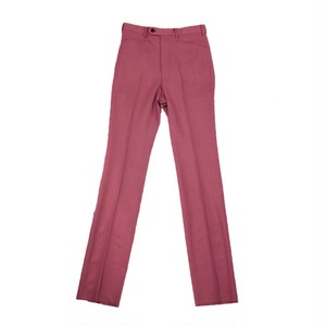 JOHNLAWRENCE SULLIVAN HIGH WAIST TAPERED TROUSERS PINK