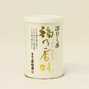 深むし茶 福乃香味(ふくのかみ)缶入り