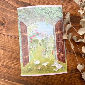 【Book Farm】秘密の花園 ポストカード