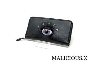 eye  wallet / light purple × blue
