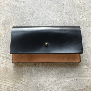 forme long wallet black