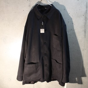 Fake Suede Cover All Type Jacket