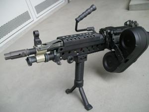 A&Kミニミチューニング M249.Pinpointer