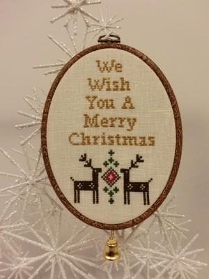 クリスマスKIT オーバルフレーム
