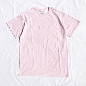 CAMERA LOGO TEE(LIGHT PINK)