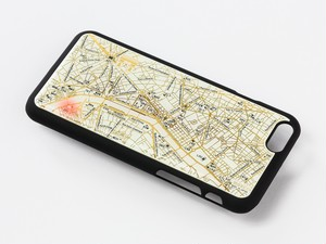 FLASH Paris回路地図 iPhone6/6s ケース 白【東京回路線図A5クリアファイルをプレゼント】