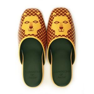 CLOAKROOMS of .Fuller  PANTOUFLE クロークルームス スリッパ 【tupera tupera×ふたごのライオン】 イエロー