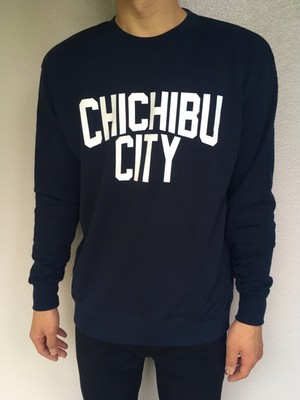 CHICHIBU CITY Sweat Navy