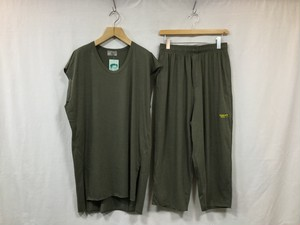 "HOMELESS TAILOR"" CUT OFF WRESTLER SET UP KHAKI"""