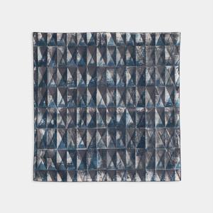 Shiori Mukai Textile 006 向井詩織 ブロックプリント 約90×87cm