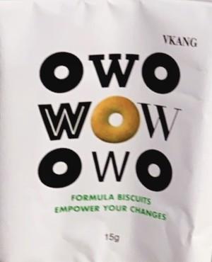 wowダイエットビスケット(2回目)1ヶ月分3箱