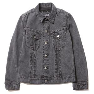 TUCK STRETCH DENIM JACKET - PIGMENT DYE / RUDE GALLERY