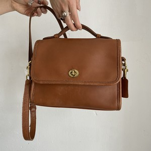 old coach 2way shoulder bag