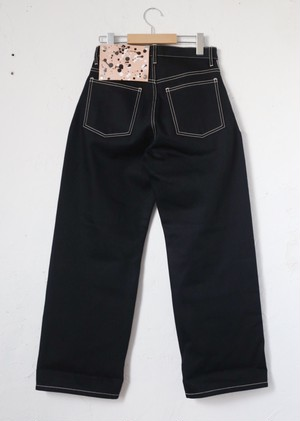 "zaziquo ""Denim Pants""[black]"
