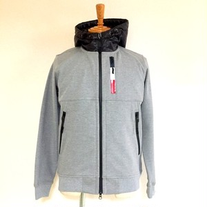 Toricolor-Zip Switching Parka Gray