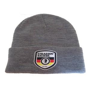 Strassenkicker×Germany/ニット帽 /  Grey