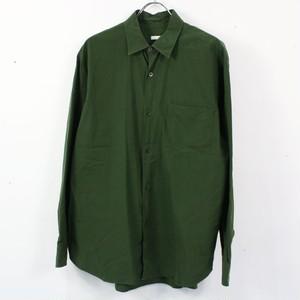 COMOLI / コモリ | コモリシャツ | 1 | オリーブ