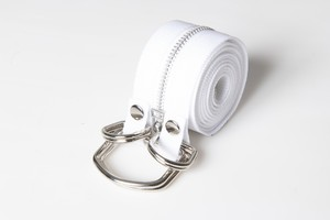 NP030|Exchangeable Twin Tape Belt【Dioscuri】#WHT