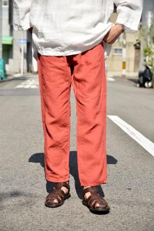 BOTTLES別注【ORDINARY FITS】LINEN 5POCKET ANKLE/OF-P058