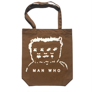 MAN WHO TOTE (ブラウン)