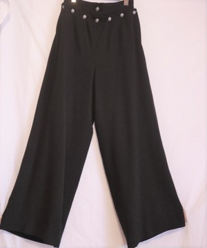 "CHANEL ""Marine Style"" Wool Wide Pants"