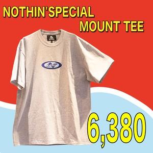 NOTHIN'SPECIAL / MOUNT TEE HEATHER GREY