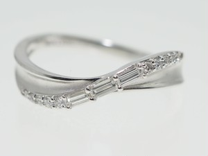 【0.20Cts】PT900 ダイヤモンドリング【サイズ直し無料】