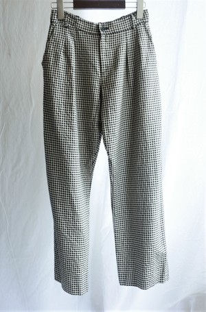 YSL 1990's rivegauche Checked Pattern Pants
