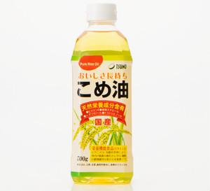 築野食品 国産こめ油 500g