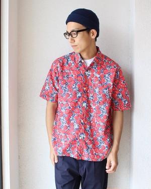 weac (ウィーク) /Flower Print Shirts(花柄シャツ)