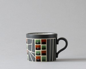マグカップ -茶1 | 白龍窯・憩庵