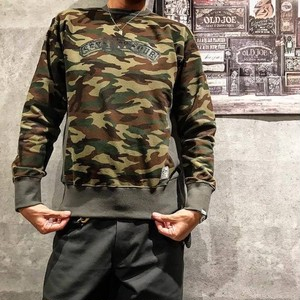 SEVENTY FOUR(セブンティーフォー) /  CAMO SIDE PANNEL SWEAT(STF17SF36)(スウェット)