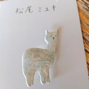 Matsuo Miyuki Pins Alpaca