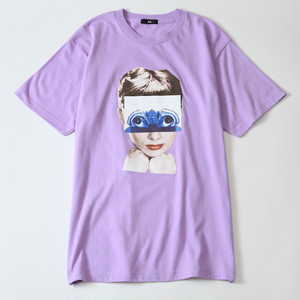 Ari Heroine Tee -Light purple-
