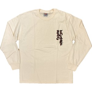 TOAST BRO 20/20 Long Sleeve T-Shirt 【NATURAL】