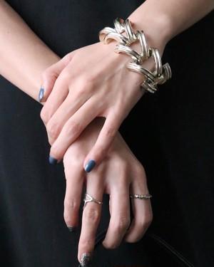 90's silver tone bracelet