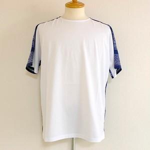 Switch Bandanna Fabric Cut & Sewn White × Navy