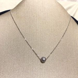 【アコヤ本真珠】1万円の品 天然 パール シルバー チェーン付き 未使用品