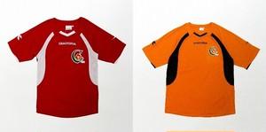 (旧デザイン)ゲームシャツ(赤・橙)