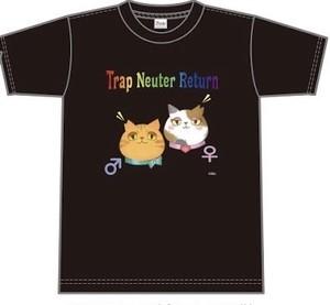 【送料無料】Tシャツ〜さくらねこTNR〜
