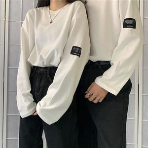 ルーズスリーブTシャツ