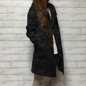 迷彩 裏起毛 ライトコート