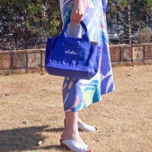 ハワイアンミニトート 小さいけど大容量!お洒落なキャンパスバッグ
