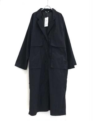 keisuke yoneda Back Open botão over coat