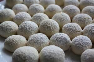 卵・小麦粉フリー:米粉のスノーボール