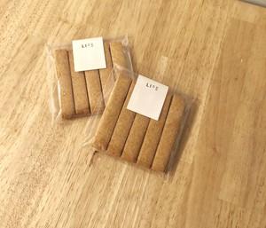 グルテンフリー 米粉のスティッククッキー <きな粉>
