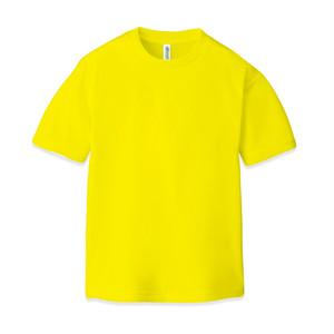ドライ クルーネックTシャツ(半袖)イエロー