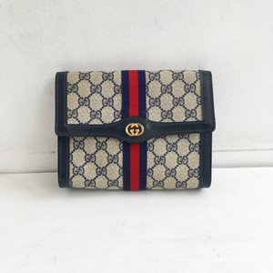 OLD GUCCI clutch bag & pouch