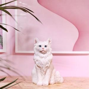 Coinbank Cat White