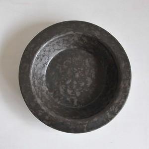 鈴木智子(いにま陶房) リムプレート(1-A)